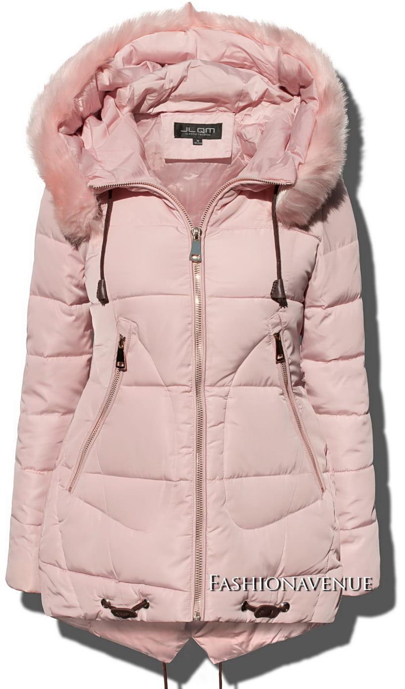 6b3a259cd1 fashionavenue kurtka zima jesien zimowa puchowka roz futerko przod model  gruszkowy 1 resize1.jpg ...