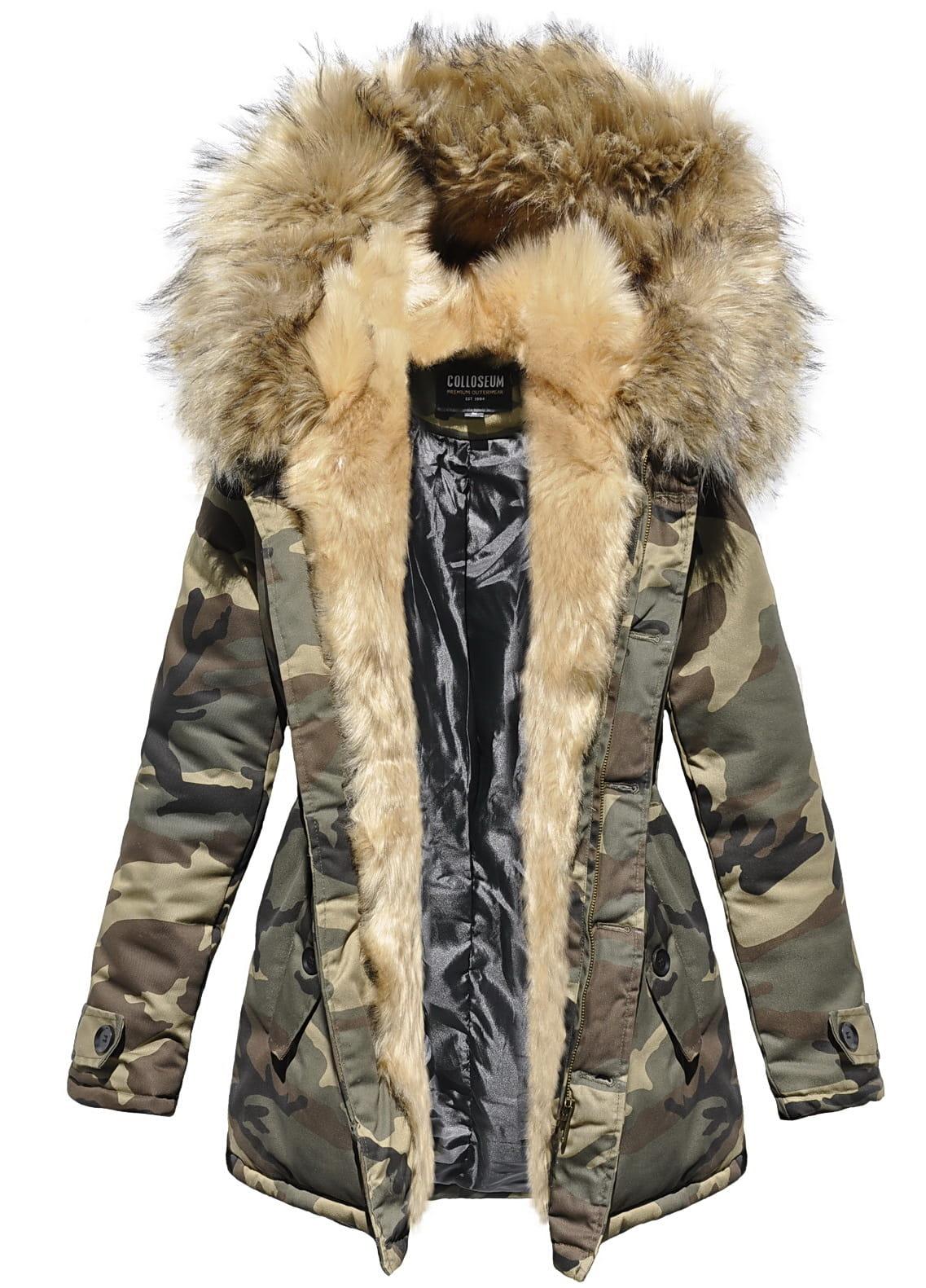 kurtki damskie z kapturem na zimę